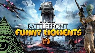 Star Wars Battlefront Funny Moments #1: ILLUMINATI