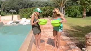 ICE BUCKET CHALLENGE - Malika et Monira (Ile des vérités 3)