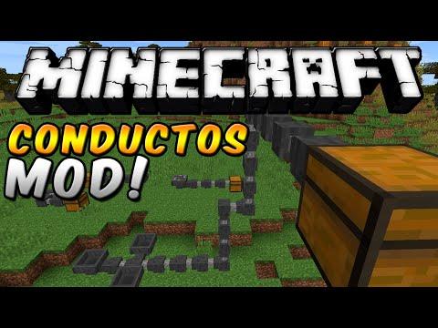 Minecraft - CONDUCTOS INCREÍBLES MOD (Hopper Ducts Mod!) - ESPAÑOL TUTORIAL