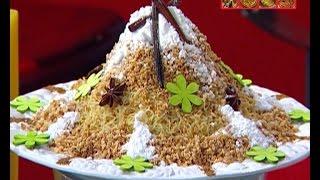 Saffa au sucre et aux amandes trés facile السفة باللوز و السكر سريعة و سهلة