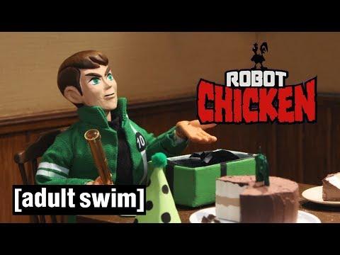 3 Cartoon Network Classics Robot Chicken Adult Swim