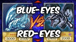 BLUE-EYES vs RED-EYES (Yu-gi-Oh Competitive Deck Duel)