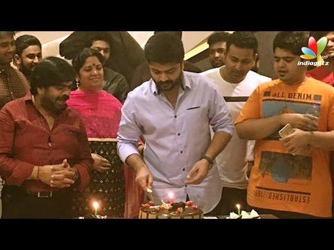 Simbu celebrates his birthday with fans at midnight Hot Tamil Cinema News