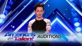 LEAK: Teen Magician Bewilders The Judges with Clever Card Trick - America's Got Talent 2017