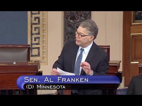 Franken Opposes Betsy DeVos Nomination Full Senate Floor Speech