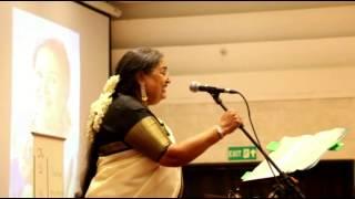 Usha Uthup talks about Madras