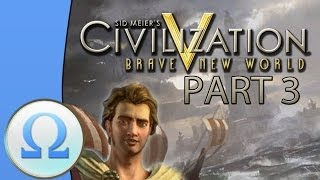 Let's Play Civilization 5 Multiplayer Gameplay - Greece - Part 3: We're Back!