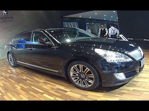 Hyundai Equus Limousine 2016, 2017 video review