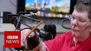 Paralysed man feeds himself again - BBC News