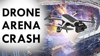 Drone CRASHES into Audience WHY??