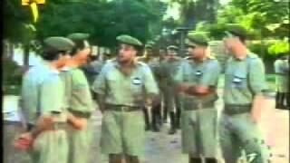 طارق شرف في مشهد من مسلسل فارس الرومانسية