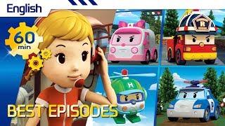 Robocar Poli | Best episodes (English) (60min) | Kids animation