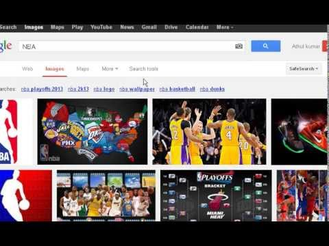 How to download multiple images from Google Image search