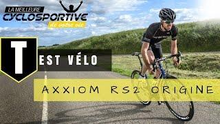Test vélo ORIGINE RS2 Axxome