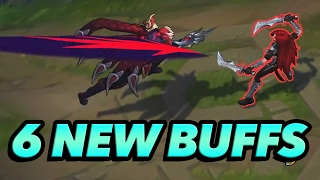 6 NEW Champions Getting Buffed! - League of Legends