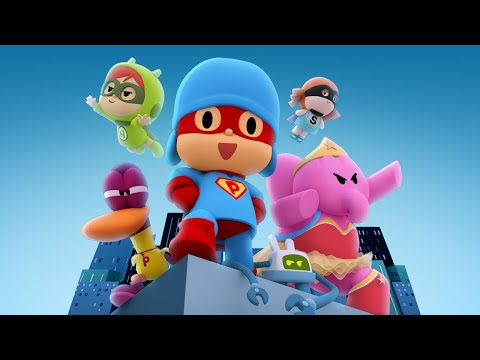 🎥 POCOYO THE MOVIE Pocoyo and The League of Extraordinary Super Friends CARTOON MOVIES for KIDS