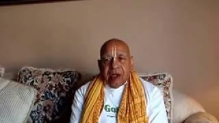 Appeal To His Holiness Bhakti Charu Swami Maharaja- Regarding Ban