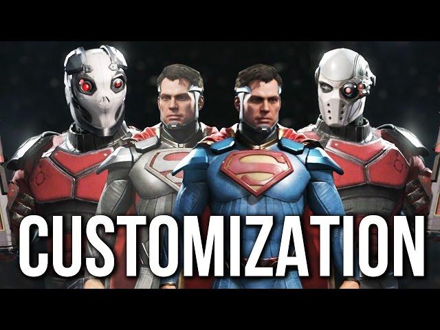 Injustice 2 - Character Customization