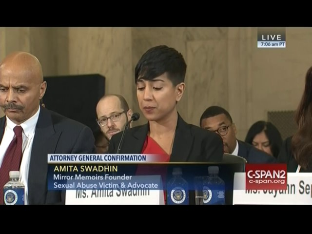 Amita Swadhin testifies on Sessions