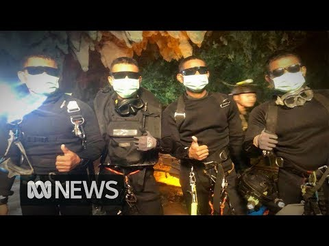 Thai cave rescue All 12 boys and coach free after three day diving mission