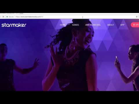 How to upload karaoke song on starmaker app