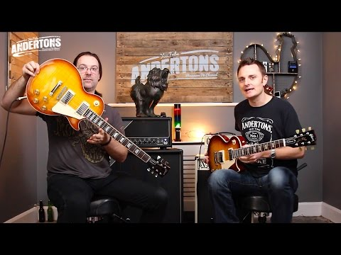 Gibson 2016 Les Paul Traditional - Trad Spec vs High Performance