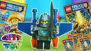 LEGO NEXO KNIGHTS Album, Revista y Minifigura