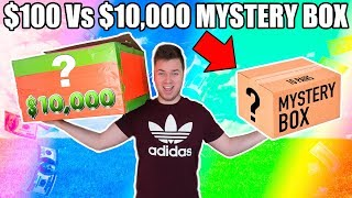 $100 VS $10,000 EBAY MYSTERY BOX CHALLENGE UNBOXING!! 📦⁉️Bitcoin, Toys & More!!