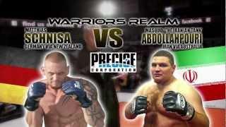 OPENWEIGHT MMA Warriors Realm 14 Matthias Schnisa VS Masoud Abdollahpouri