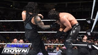 Roman Reigns vs. Seth Rollins: SmackDown, July 2, 2015