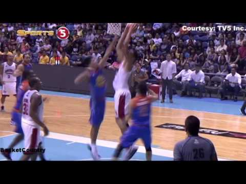 Japeth Aguilar Poster Dunk on Troy Rosario