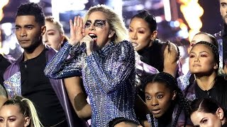 Lady Gaga Plays Coy on Dating Rumors Reveals Why She Hit Back at Body Shamers Post-Super Bowl