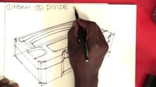 Form, Divide, Beautify: Design Sketching in 3 Easy Steps // Coreskills Episode 2