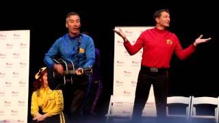 Wiggles 2013 singing Toot Toot Chugga Chugga Big Red Car - Westfield Parramatta Feb 28