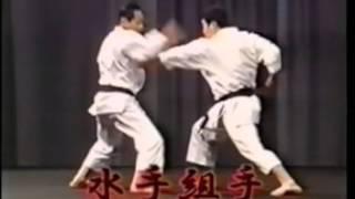 Sensei Tetsuhiko Asai   Fazendo Bonkai Kata Suishu