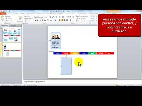Línea de tiempo con PowerPoint