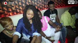 Wema Sepetu kwenye usiku wa Birthday Party ya Dj wa Diamond Platnumz