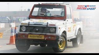 Maruti Suzuki Autocross 2011 - Driver's eye!