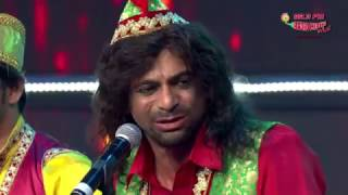 Guthi-Sunil Grover !! as a qawal !! mirchi music award !! Full Comedy.