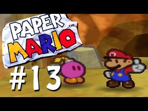 Let s Play Paper Mario Blind Part 13 WE DO not much.