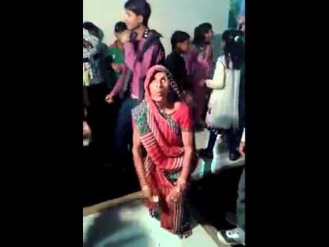 Indian Village old lady crazy dancing can't resist laugh