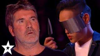 MOST DANGEROUS Magic And Escape Auditions On Britain's Got Talent!   Got Talent Global
