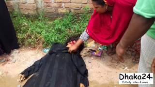 নরসিংদীতে ট্রেনের ধাক্কায় অজ্ঞাত নারীর মৃত্যু ভিডিও দেখুন