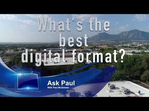 What s the best digital format