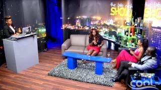 THE LATE NIGHT SHOW - Guest: Ghanaian Presenter, Peace | Cool TV
