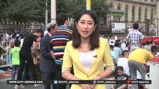 Muslims celebrate end of Ramadan in China