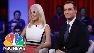 Donald Trump And Hillary Clinton Aides Tussle Over Campaign At Harvard   NBC News