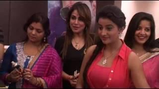 Pawan Singh With Family Celebration Birthday Party At Mahurat Movie Pawan Raja