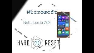 Microsoft(nokia) Lumia 730 Hard Reset...