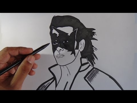 Xxx Mp4 How To Draw Super Hero Krish Hrithik Roshan 3gp Sex